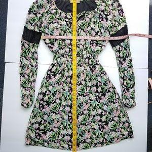 princess vera wang Dresses - Princess Vera Wang Floral Mini Dress Sz XS